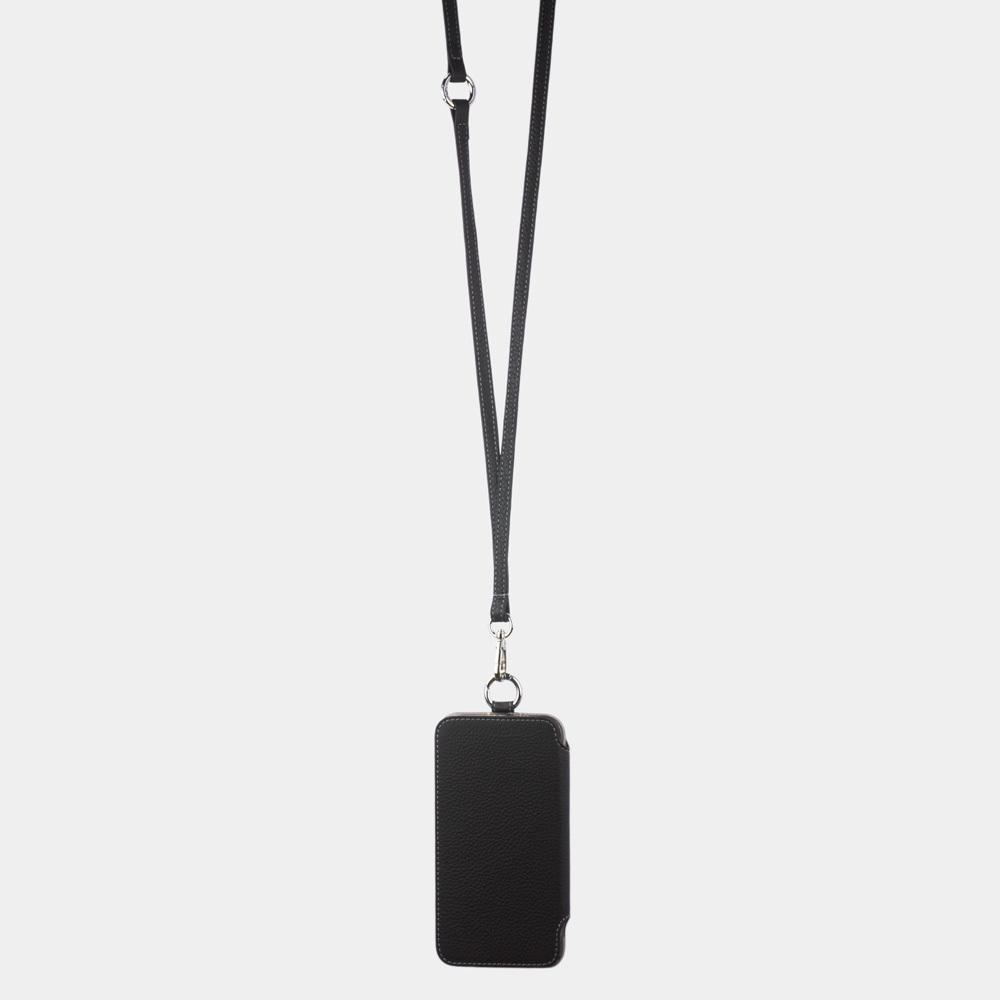 Чехол Marcel для iPhone 11 из натуральной кожи теленка, цвета черный мат
