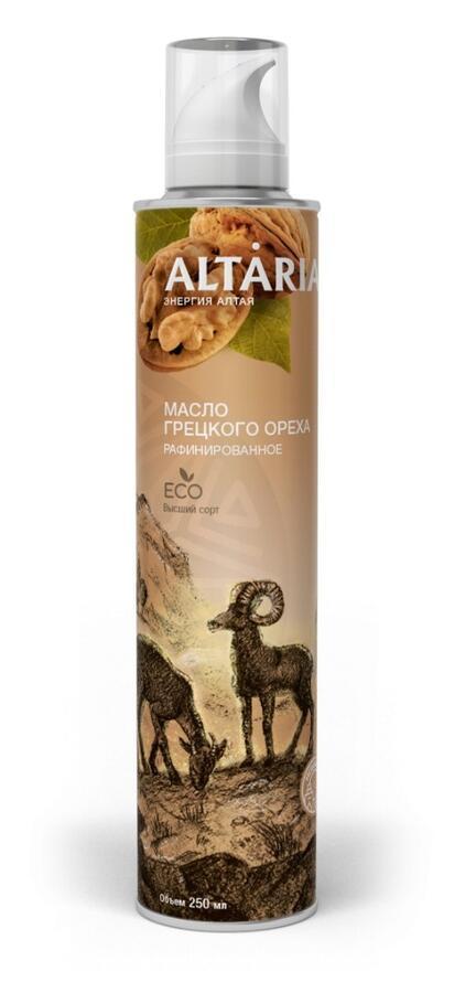 Алтария масло грецкого ореха нерафинированное 250 мл