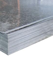 Лист гладкий оцинкованный 1250х2000х0,4мм