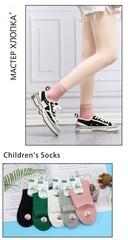 Носки для девочек (5 пар) арт.DB601(р. 20-24)