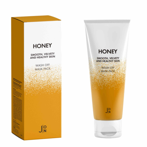 Маска для лица Honey J:ON Smooth Velvety and Healthy Skin Wash Off Mask Pack, 50 гр