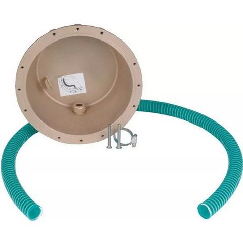 Закладная (ниша) Fitstar 4100050, для прожекторов 2х50, 2х65, 175, 200 и 400 Вт, PAR56 300 Вт, LED 12х3 и 24х3 Вт / 24117