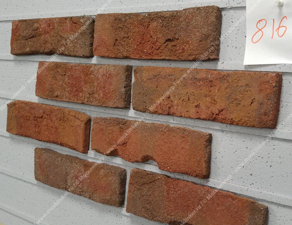 Roben - Formback, buntgeflammt, NF14, 240x14x71 - Клинкерная плитка для фасада и внутренней отделки