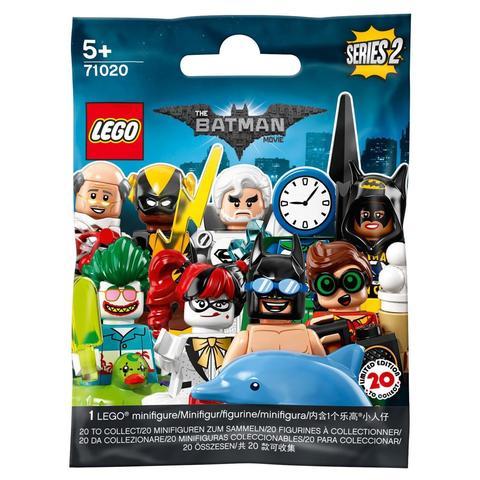 LEGO Minifigures: Минифигурки Batman Movie серия 2 в ассортименте 71020 — Minifigure The LEGO Batman Movie Series 2 Complete Random Set of 1 Minifigure — Лего Минифигурки