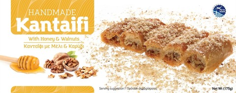 Кантаифи с медом и грецкими орехами Candianuts 175 гр