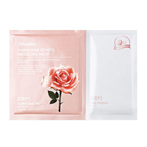 JM Solution Альгинатная маска Glow Luminous Flower Modeling Mask 50g/5g