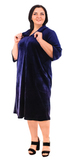 17811 Клеш, цвет темно-синий