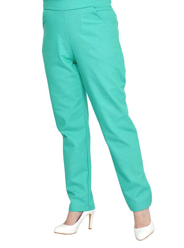Джинсовые брюки Тропический пляж