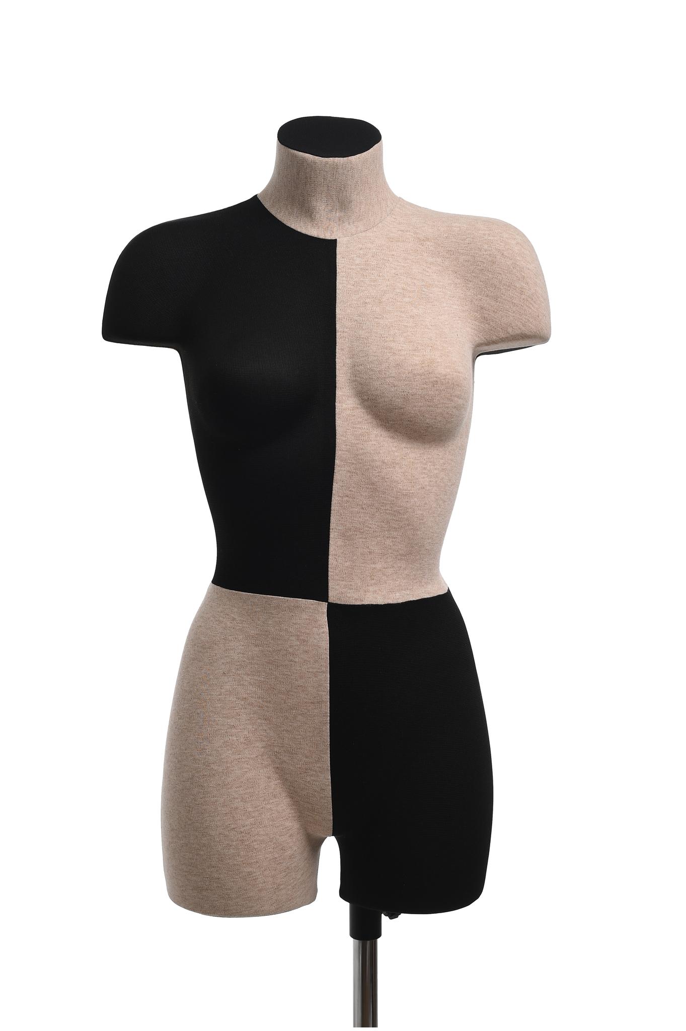 Демонстрационный женский манекен 42-44 размер (домино)