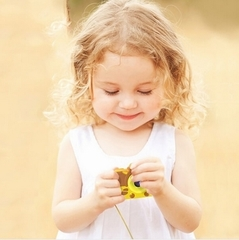 Десткий цифровой фотоаппарат Жирафик для девочек и мальчиков