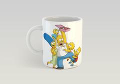 Кружка с рисунком из мультфильма Симпсоны (The Simpsons) белая 004