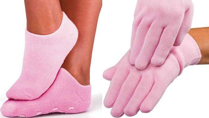 Ухаживающий набор «Гель-Спа» (перчатки и носочки с гелевой пропиткой)