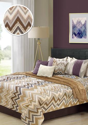 Комплект для спальни Грейс бежево-коричневый