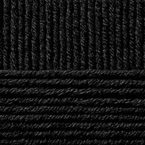 Купить Пряжа Пехорка Зимняя премьера Код цвета 002-Чёрный | Интернет-магазин пряжи «Пряха»
