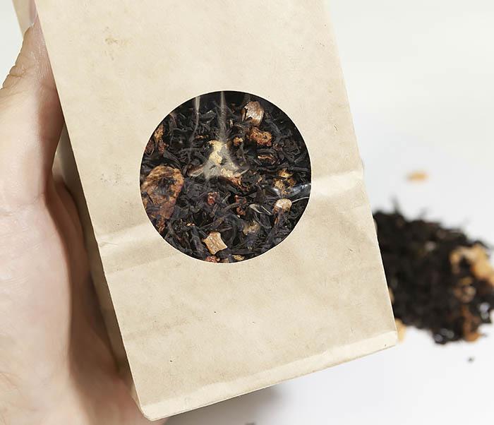 TEA-AR109 Черный ароматизированный чай «Восточная Сладость» (50 гр) фото 04