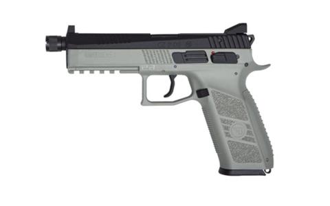Страйкбольный пистолет CZ P-09 Urban Grey Blowback,  подвижный затвор, СО2 (Артикул 18943)