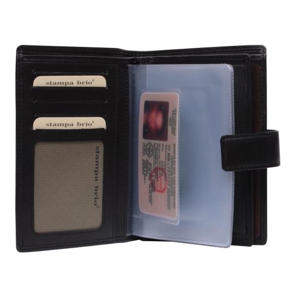 131 R - Портмоне 4в1 с отделениями для документов и RFID защитой