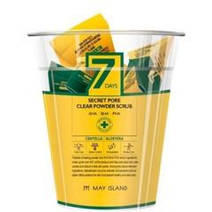 Скраб для глубокого очищения пор May Island в индивидуальных упаковках 60 гр