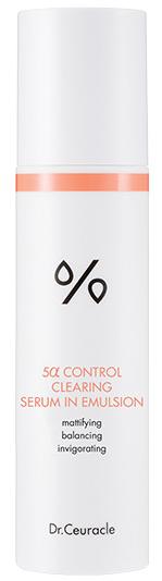 Dr.Ceuracle 5α Control Clearing Serum In Emulsion cыворотка-эмульсия для сужения пор 100мл