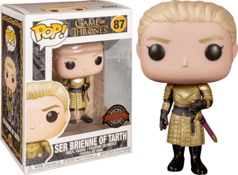 Фигурка Funko Pop! TV: Game of Thrones - Ser Brienne of Tarth (Excl. to Box Lunch)