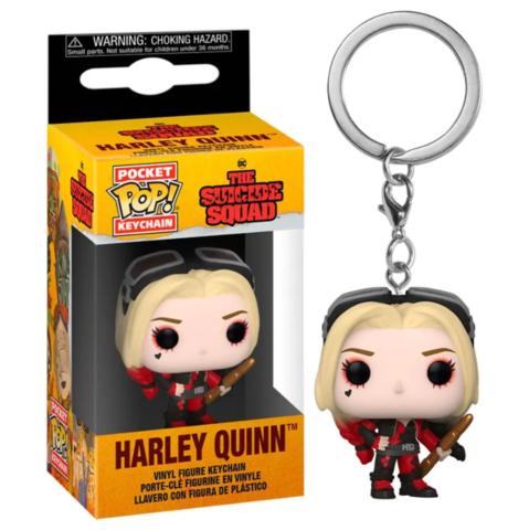 Funko Pocket POP! Keychain DC The Suicide Squad Harley (Bodysuit)