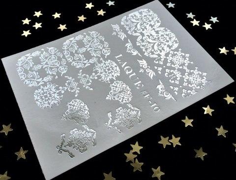 Слайдер-дизайн #F-10 (Серебро)