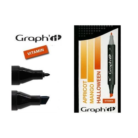 Набор маркеров GRAPH'IT VITAMIN 3шт. оттенки оранжевого