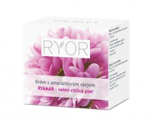 Ryor Ryamar Защитный крем с маслом амаранта для очень чувствительной, возрастной кожи, 50мл