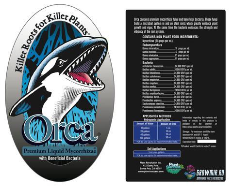 Жидкая микориза Orca Premium с полезными бактериями 100мл