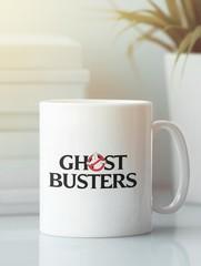 Кружка с рисунком Охотники за привидениями (Ghostbusters) белая 008