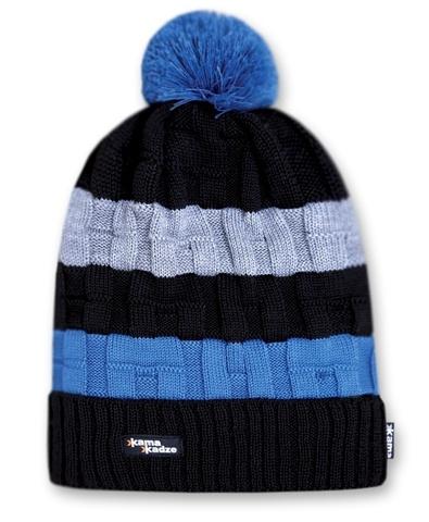Картинка шапка-бини Kama K21 Black - 1
