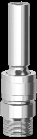 Одноструйная фонтанная насадка Smooth Bore Jet MS 0508 L,½