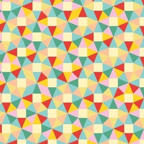 Яркие треугольнички