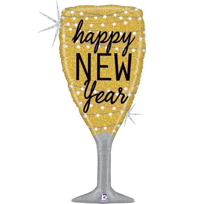 Шампанское Новый Год 94 см