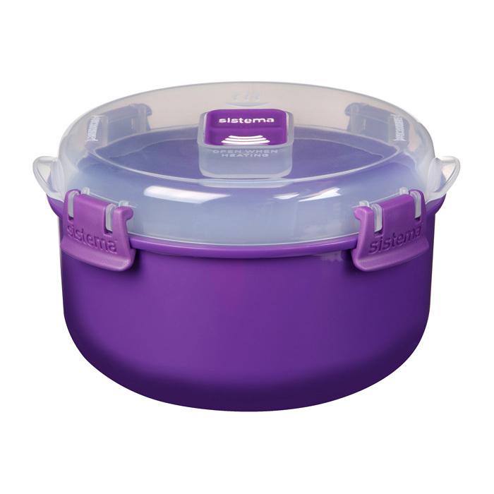 "Контейнер для СВЧ Sistema ""Microwave"" 915 мл, цвет Фиолетовый"