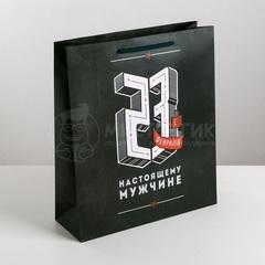 Пакет ламинированный вертикальный «Сила и воля», M 23 × 27 × 8 см, 1 шт.