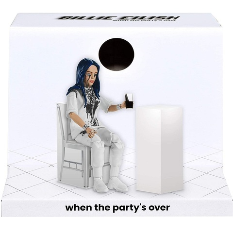 Билли Айлиш When The Party's Over фигурка 15 см