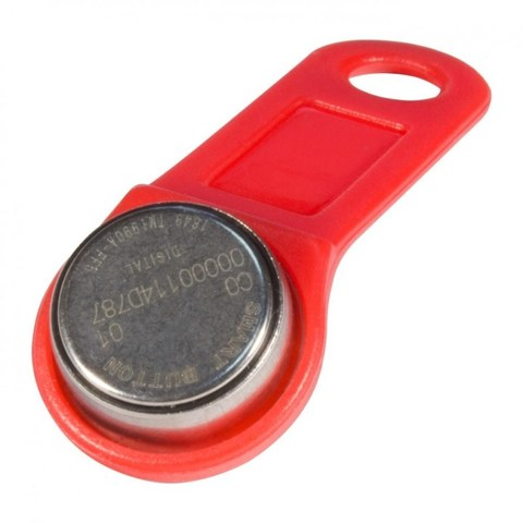 Электронный ключ DS-1990A (красный)