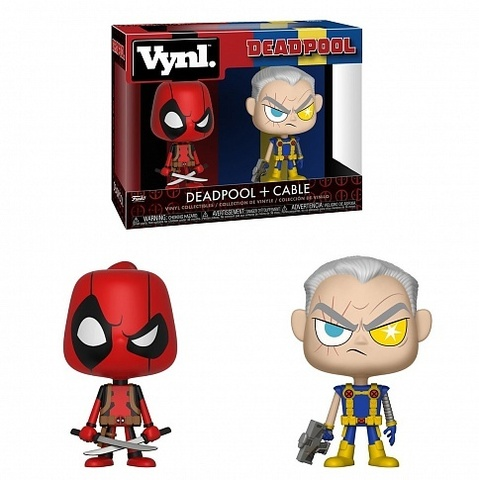 Фигурка Funko VYNL: Marvel Comics : Deadpool & Cable 30489