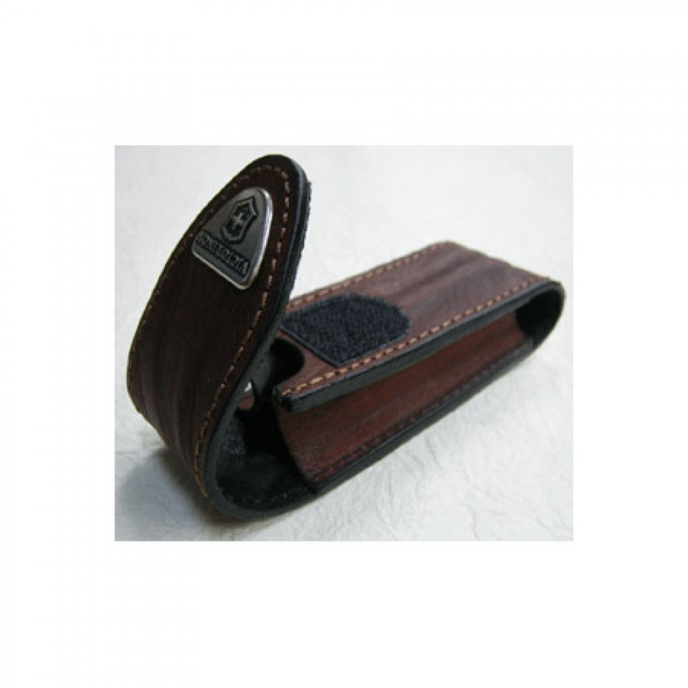 Чехол для складных ножей Victorinox 85 и 91 мм. (4.0543) коричневая кожа - Wenger-Victorinox.Ru