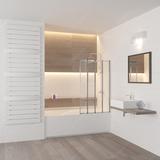 Шторка на ванну RGW SC-23 80х150 03112308-11 прозрачное