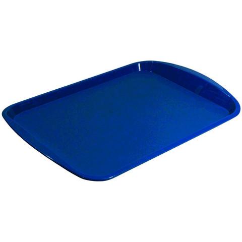 Поднос прямоугольный пластиковый Polar 470х330 мм синий
