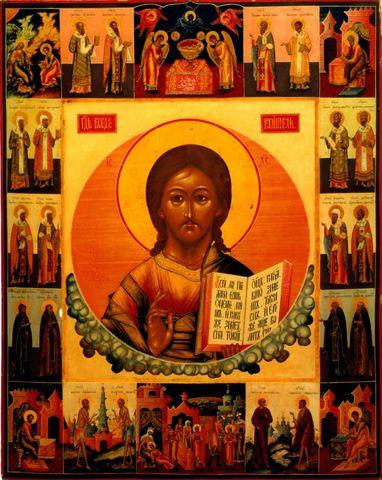 Икона Спасителя Иисуса Христа Господь Вседержитель (