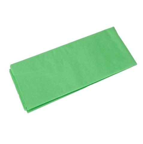 Бумага тишью 10 шт., 50x66 см, цвет: салатовый