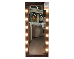 Зеркало гримерное с лампочками