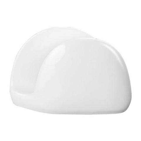 Салфетница Wilmax фарфоровая белая 11x8x3 см (артикул производителя WL-996093)