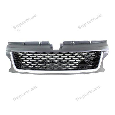 Решетка на  Range Rover Sport 2010 Autobigraphy серо-черная