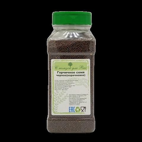 Горчичное семя черное (коричневое) С ПОЛЬЗОЙ ДЛЯ ВАС, 660 гр