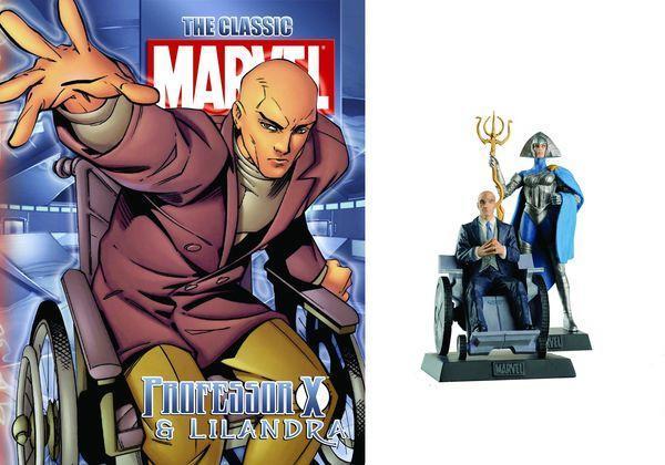 Special Edition Professor Xavier & Lilandra Magazines & Figures