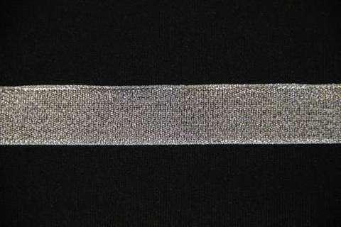 Лента металлизированная. МЕТРАЖОМ , Серебро.   (выбрать размер)